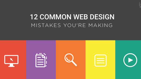 12 Web Design Mistakes That Can Ruin Your Site