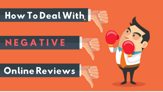 How To Deal With Negative Online Customer Reviews?